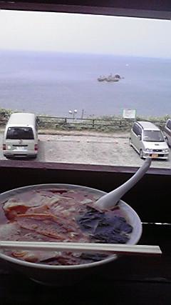 昼食は、味噌ラーメン〓です